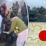 Eight dead as earthquake DESTROYS buildings in China