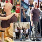 Roman Holiday: Amazon founder Jeff Bezos vacations in Italy