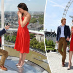 'Prince Harry' shocks tourists as he PROPOSES to 'Meghan Markle' on London Eye