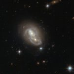 Hubble captures incredible look at galaxy duo in 'Hare' constellation