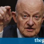 James Clapper: democratic institutions are 'under assault' by Trump