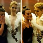 Lea Michele Reduced To An Emotional Puddle Upon Meeting Icon Celine Dion — Pic