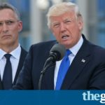 Trump rebukes Nato leaders for not paying defence bills