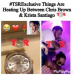 Chris Brown Spoils New GF Krista Santiago With Diamond Rolex On Her Birthday