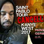 Kanye West's European Tour Cancelled