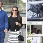 Pippa Middleton and James Matthews in Sydney for their honeymoon