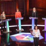 BBC debate: Rivals attack Theresa May over absence