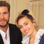 Liam Hemsworth Joins Cyrus Family Christmas Photo