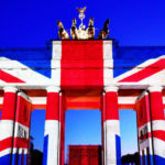 London terror attack: Brandenburg Gate lit up with Union flag as the world mourns victims