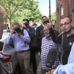 Angry residents confront Tory over PM 'no-show'