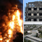 London fire: Terrified children scrawled 'help' on ash stained windows, eyewitness reveals