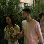 Steph Curry Turns Up In Hollywood with Drake's Dad