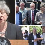 Theresa May vows to stamp out Islamophobia as 'distraught' Corbyn meets religious leaders
