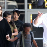 Brad Pitt & Angelina Jolie Reunite In London To Spend Time With Kids