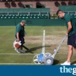 Wimbledon officials defend condition of grass amid injury fears