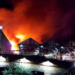 Dozens of firefighters at Camden Market blaze