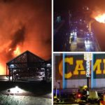 Huge fire rips through Camden Lock Market
