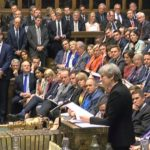 MPs vote in favour of holding a snap general election on June 8