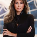 People aren't happy with Melania Trump's first official portrait