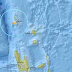 Magnitude 5.7 earthquake hits north of Vanuatu