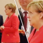 Not this again! Angela Merkel caught rolling her eyes at Vladimir Putin during G20 chat