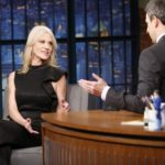 Seth Meyers grills Kellyanne Conway about claims that Russia has compromising information on Donald Trump