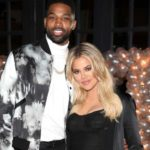 Khloe Kardashian flashes ring as she and Tristan celebrate 'engagement party'