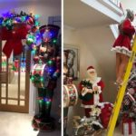 Mum Spends £3,000 On Christmas Decorations