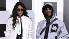 Rumoured hot new couple Skepta and Naomi Campbell hit up star-studded MFW show
