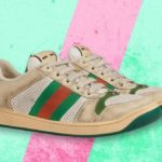 For the bargain price of £615, you can get Gucci trainers that look like they're covered in dirt